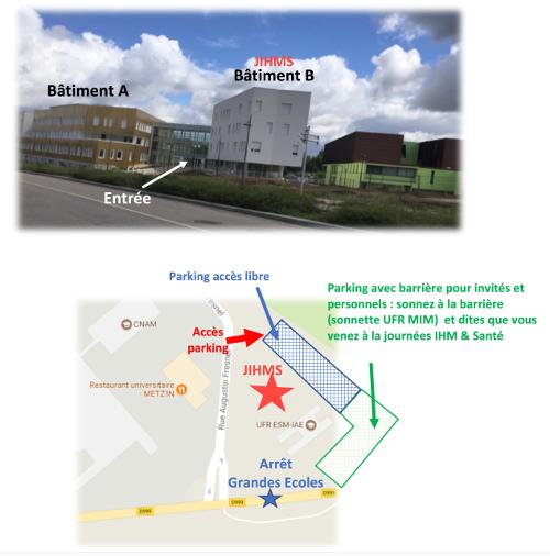 Accès et parking